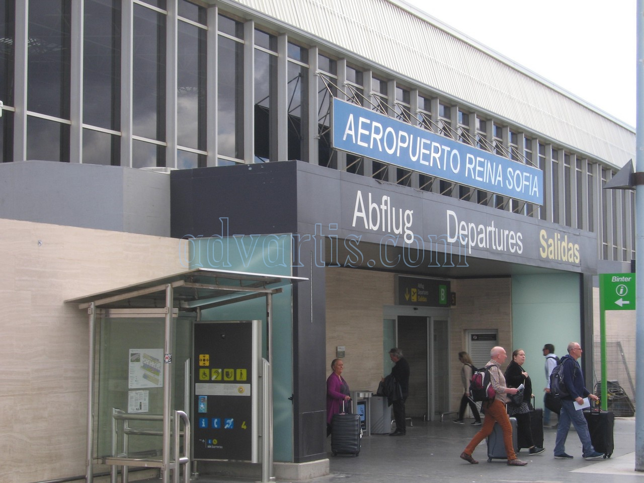 Tenerife south airport Departures